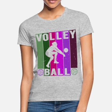 Pitching Volleyball Kvinde Opmudring - T-shirt dame