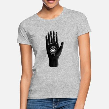 hand with six fingers - Women's T-Shirt