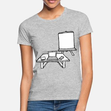 Workplace Workplace with whiteboard - Women's T-Shirt