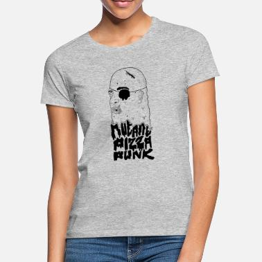 Mutant Mutant Pizza Punk Freak Shirt - T-shirt dam