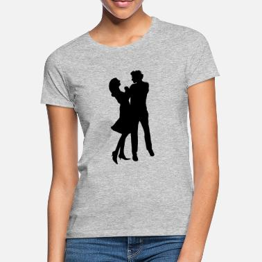 Dancing Couple Dancing dance couple - Women's T-Shirt