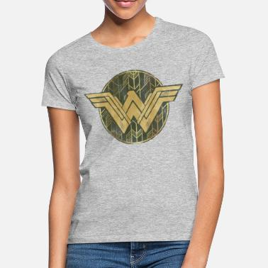 Bros Wonder Woman Faded Vintage Logo - T-skjorte for kvinner
