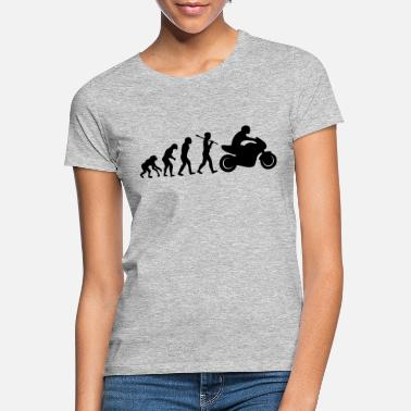 Evolution motorcycle moto t-shirt - Women's T-Shirt
