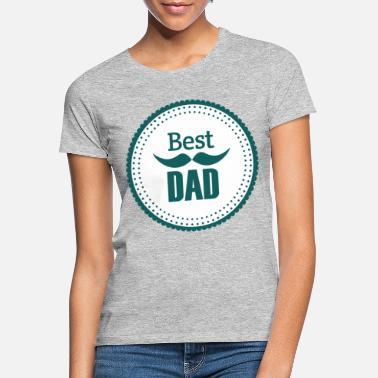 Superpapa Best Dad Vater Daddy Papi Papa Dad - Frauen T-Shirt