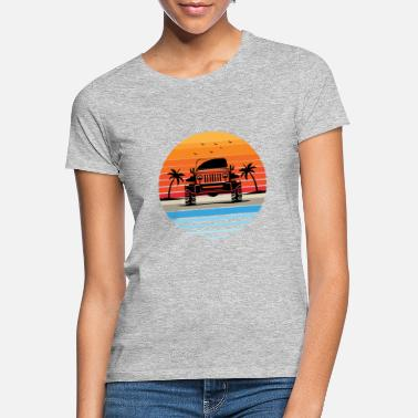 Wrangler Jeep Wrangler Travel Tee Jeep G - Vrouwen T-shirt