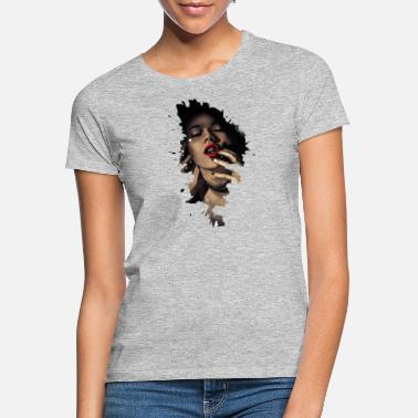 Rage Face Comic lukkede ansigter - T-shirt dame