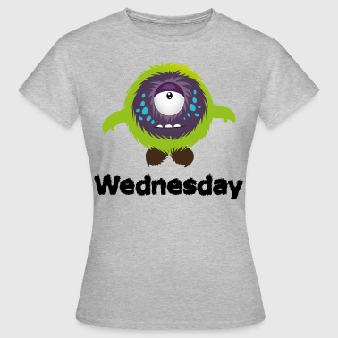 Wednesday Monster - Women's T-Shirt