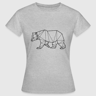 Black Bear - Animal Prism - Women's T-Shirt