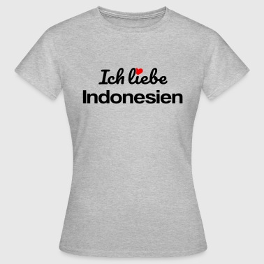 Indonesien - Frauen T-Shirt