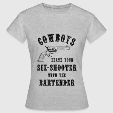 cowboys leave your guns s - Women's T-Shirt