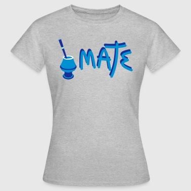 Mate Argentino - Dame-T-shirt