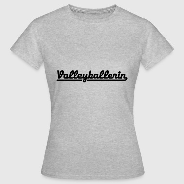 2541614 126235833 Volleyballerin - Dame-T-shirt