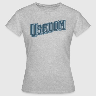 Usedom belettering - Vrouwen T-shirt