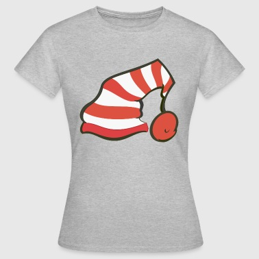 Gnome Hat - Dame-T-shirt