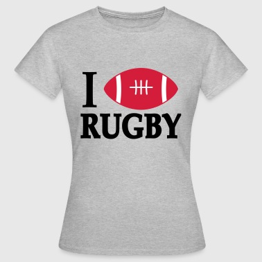 2541614 15789111 rugby - T-shirt Femme
