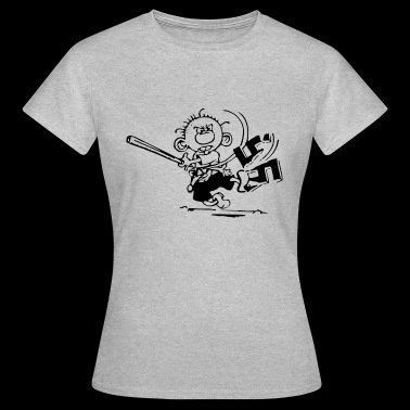 against Nazis - Women's T-Shirt