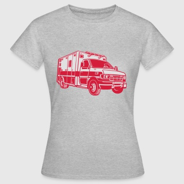 2541614 134868929 Ambulance - Dame-T-shirt