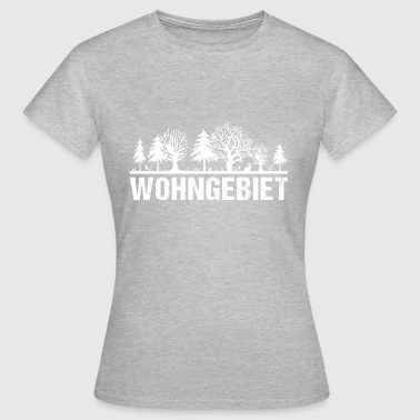 FPV Quadrocopter Racing Antenne Wohngebiet - Frauen T-Shirt