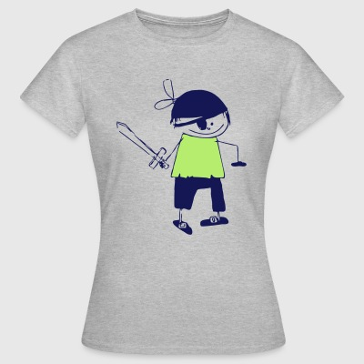 a pirate - Women's T-Shirt