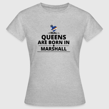GIFT QUEENS LOVE FROM MARSHALL ISLANDS - Women's T-Shirt