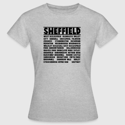 Sheffield City - Dame-T-shirt
