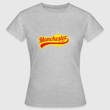 Football League Angleterre Manchester 1902 portes champion - T-shirt Femme