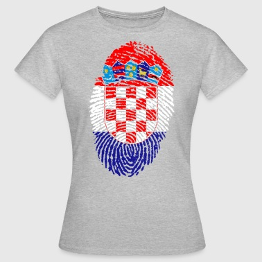KROATIEN 4 NÅGONSIN COLLECTION - T-shirt dam