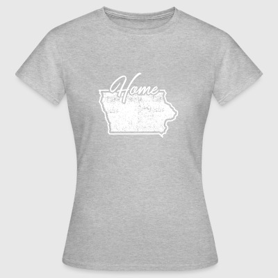 Iowa Tee Shirt Iowa Home State - Women's T-Shirt