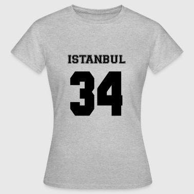Istanbul 34 - Dame-T-shirt