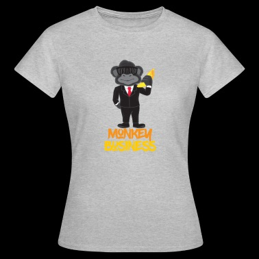 Monkey Business Monkey Suit Banana Fun Gift - Women's T-Shirt