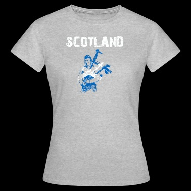 Nation-Design Scotland Cornemuse ZPfdXt - T-shirt Femme