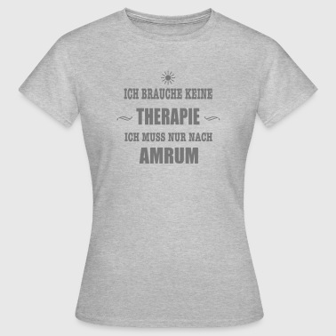 THERAPIE AMRUM SONNE - Frauen T-Shirt