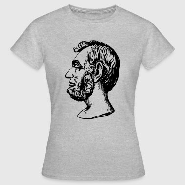Abraham Lincoln - Camiseta mujer