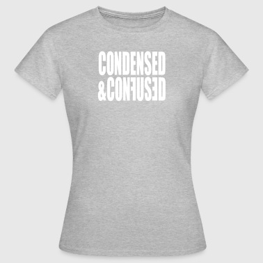 Codensed Typographie - Frauen T-Shirt
