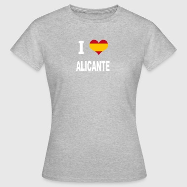 I Love Spain ALICANTE - Women's T-Shirt