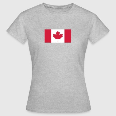 National Flag Of Canada - Women's T-Shirt
