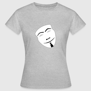 anonymous - Dame-T-shirt