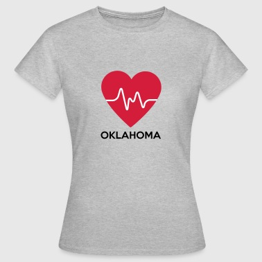 heart Oklahoma - Women's T-Shirt