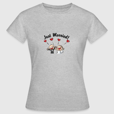 Just Married In Love - Women's T-Shirt