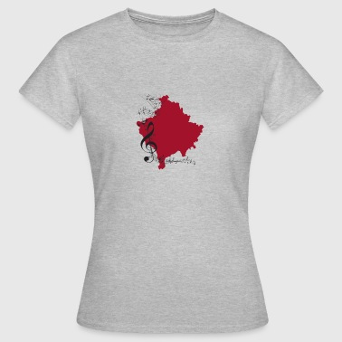 Music kosovo - Women's T-Shirt