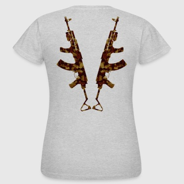 Double AK`s - Women's T-Shirt