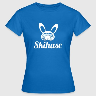 Skihase - Frauen T-Shirt