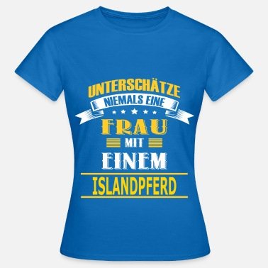 Islandpferd Frauen T Shirt Spreadshirt