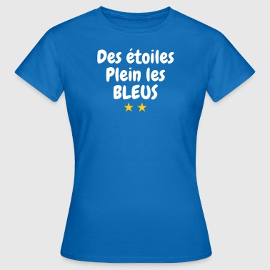 Historical Humor Stars full of blues - Women's T-Shirt