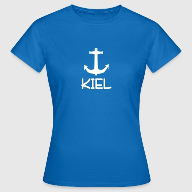 Baltic Sea Kiel anker Maritime Baltic Sea | Gave souvenir - T-skjorte for kvinner