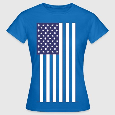 Flagga USA USA - T-shirt dam