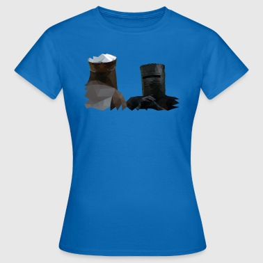 King Arthur and the Black Knight - Monty Python - Vrouwen T-shirt