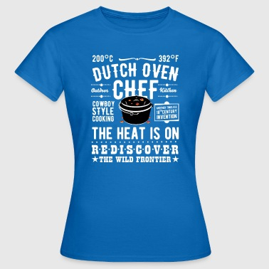 Chef Dutch Oven Chef - Vrouwen T-shirt