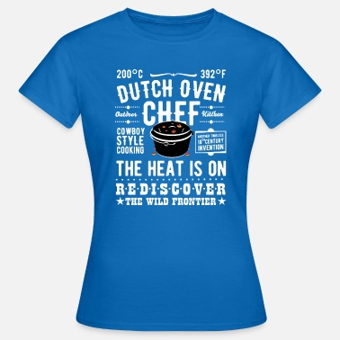 Pot Au Feu Dutch Oven Chef - T-shirt Femme