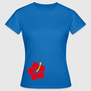 Red flower - Women's T-Shirt